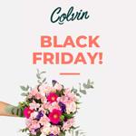 Blumen zum Black Friday – Entdecke jetzt das Angebot von Colvin und erhalte 25% Rabatt