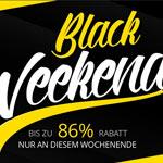 Black Weekend bei Comtech – Bis zu 86 % Rabatt nur an diesem Wochenende