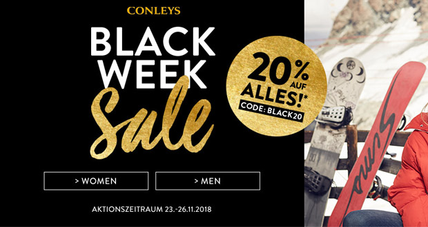 Conleys Black Friday 2018