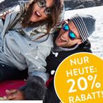 Erhalte nur heute 20% Rabatt auf deinen gesamten Einkauf auf CONLEYS.de*