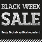 Großer Black Week Sale bei Conrad.de – Spare das ganze Wochenende bis zu 50% auf deinen Einkauf!