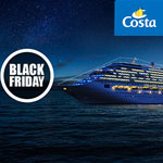 Black Friday bei Costa – Traumhaft schöne Kreuzfahrten zu unglaublichen Preisen
