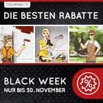 Black Week auf Coupons.de – Die besten Gutscheine des Jahres