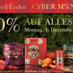 Cyber Monday bei Crabtree & Evelyn: 20% Rabatt auf alle Produkte ab 30 Euro Einkaufswert!
