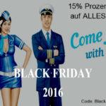 15% Rabatt auf Alles bei Crewshop24 – dem Merchandise Spezialist rund ums Fliegen.
