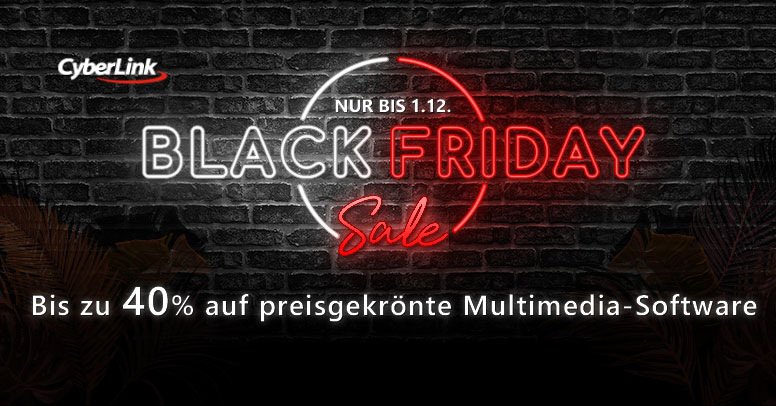 Cyberlink Black Friday 2019