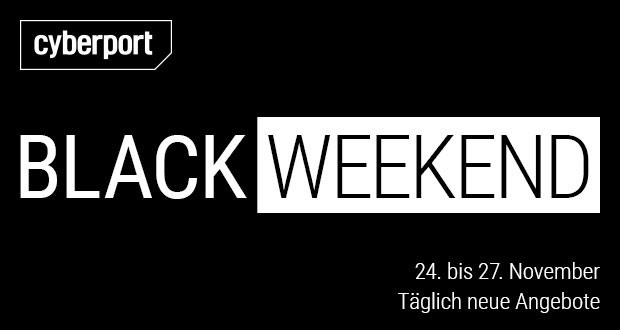 Cyberport Black Weekend 2017