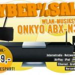 3 x Cyber: CyberSale am Cyber Monday bei Cyberport