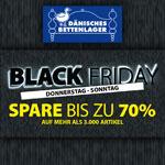 Black Friday bei Dänisches Bettenlager: Spare bis zu 70%