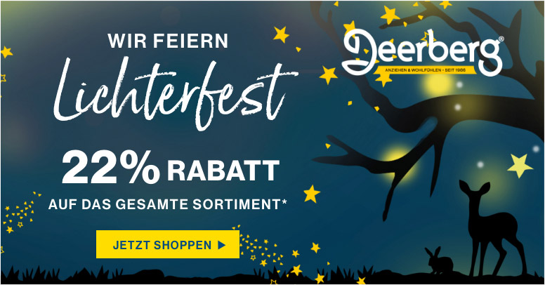 Deerberg Black Friday 2020