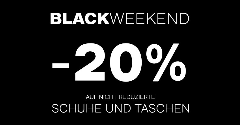 Deichmann Black Friday Weekend 2019