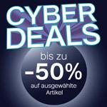 Cyber Deals: Bis zu 50% Rabatt auf viele ausgewählte Artikel im Online Shop von Deichmann