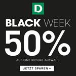 Black Week bei Deichmann: 50% Rabatt auf eine riesige Auswahl!