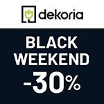 Black Weekend bei Dekoria -30% Rabatt auf alle Vorhänge und Raffrollos