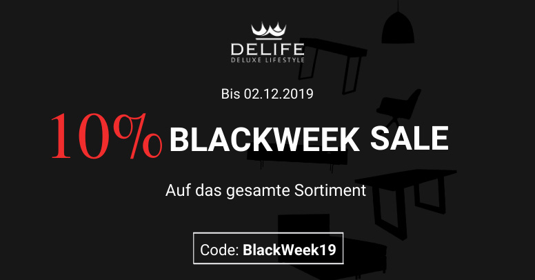 Delife Black Friday 2019