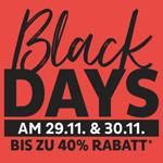 Depot feiert die Black Days mit bis zu 40% Rabatt auf über 7.000 Artikeln