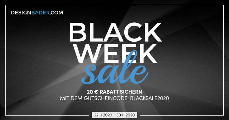 Designbäder.com Black Friday 2020