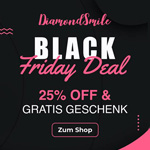 25% Rabatt auf Alles plus gratis Geschenk mit dem DiamondSmile® Deal zum Black Friday