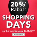 Exklusiv zum Black Friday – 20% Rabatt im Online Shop von Die Moderne Hausfrau