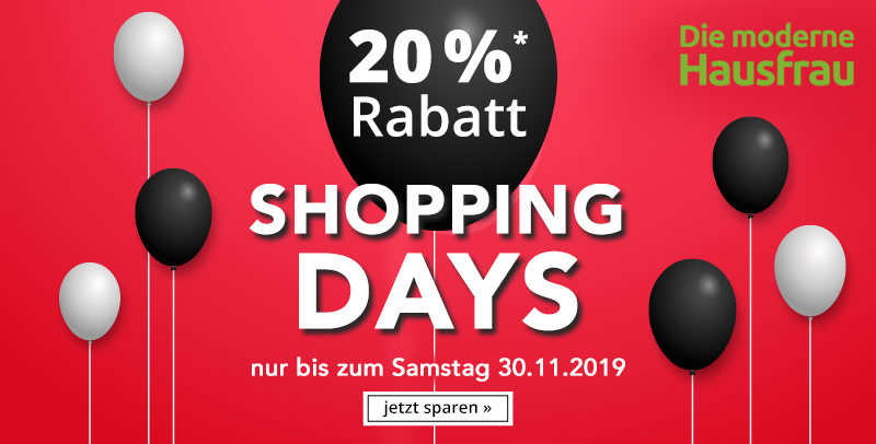Die moderne Hausfrau Black Friday 2019
