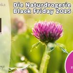 Die Naturdrogerie Black Friday 2015: komplettes Sortiment mit 15% Rabatt und weitere Angebote!