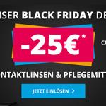 Spare nur heute 25 Euro auf deine Bestellung im Onlineshop von Discountlens