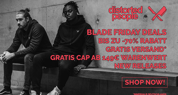 distorted people Black Friday 2018