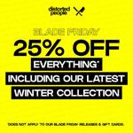 Blade Friday – Spare jetzt 25% auf aktuelle Styles von Distorted People