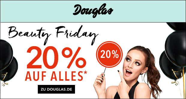 Douglas Beauty Friday 2017
