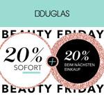 Beauty Friday bei Douglas: 20% Rabatt auf alles* + 20% Rabatt beim nächsten Einkauf