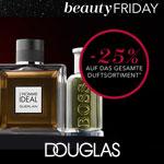 Beauty Friday bei Douglas – 25% Rabatt auf das gesamte Duftsortiment!