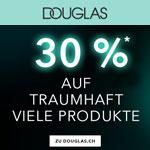 Jetzt 30% Rabatt auf traumhaft viele Produkte auf Douglas.ch