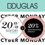 Cyber Monday bei Douglas – Sicher dir 20% sofort und weitere 20% für deinen nächsten Einkauf