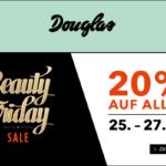 20% auf alles beim großen Beauty Friday Sale von Douglas