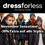 Dress For Less -30% Extra auf alle Styles & gratis Versand