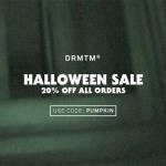 Halloween Sale bei DRMTM: 20% auf alle Bestellungen!