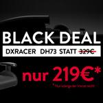 Black Deal: Gaming-Stuhl DXRacer DH73 für nur 219 EURO