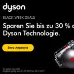 Spare jetzt mit den Black Week Deals von Dyson bis zu 30% auf deine Bestellung
