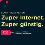 Sicher dir jetzt 25 EURO Cashback mit den Internetzugängen von eazy!