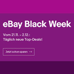 Black Friday Tech Coupon mit bis zu 10% Rabatt bei eBay