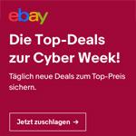 Sicher dir jetzt die eBay Top-Deals zur Cyber Week