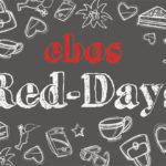 4 Tage lang 40% Rabatt auf alles bei den Red Days im Geschenke-Shop von ebos!