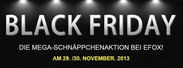 eFox Black Friday Sale 2013