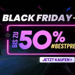 Black Friday Verkauf bei eGlobal Central mit bis zu 50% Rabatt auf ausgewählte Artikel