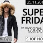 Spare heute bis zu 80% auf internationale Fashion Trends für Männer bei EightyFive