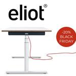 20% Rabatt auf Eliot – der höhenverstellbare Design-Schreibtisch