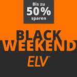 Black Weekend im Online Shop von ELV – Sicher dir jetzt bis zu 50% Ersparnis