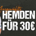 Verschiedene Hemden für nur 30 EURO im emilio adani Onlineshop