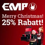 Sichere dir nur heute den besten Deal bei EMP und spare 25%
