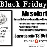Empire Poster sind mit ihrem Topseller – Rekord beim Black Friday dabei!